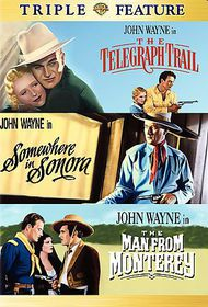 Telegraph Trail/Somewhere in Sonora/The Man from Monterey - (Region 1 Import DVD)