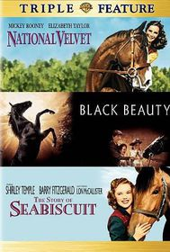 National Velvet/The Story of Seabiscuit/Black Beauty - (Region 1 Import DVD)