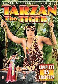 Tarzan the Tiger - (Region 1 Import DVD)