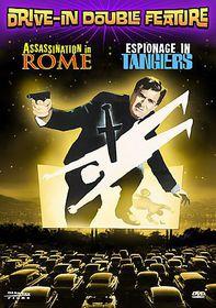 Assassination in Rome/Espionage in Tangiers - (Region 1 Import DVD)