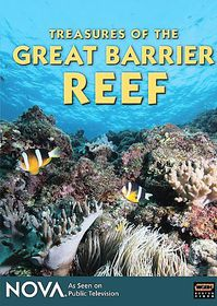 Treasures of the Great Barrier Reef - (Region 1 Import DVD)