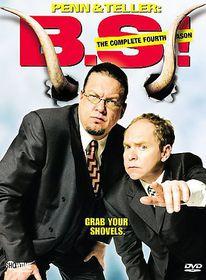 Penn & Teller:Bs the Complete Fourth - (Region 1 Import DVD)
