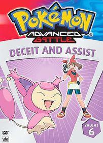Pokemon Advanced Battle Vol 6:Deceit - (Region 1 Import DVD)