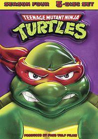 Teenage Mutant Ninja Turtles - Season 4 - (Region 1 Import DVD)