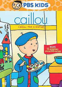 Caillou the Creative - (Region 1 Import DVD)