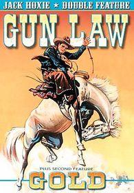 Jack Hoxie Double Feature: Gold (1932)/Gun Law (1933) - (Region 1 Import DVD)