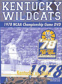 1978 NCAA Championship GameKentucky vs. Duke - (Region 1 Import DVD)