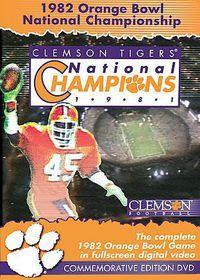 1982 Orange Bowl National ChampionshipClemson Tigers vs. Nebraska Huskers - (Region 1 Import DVD)