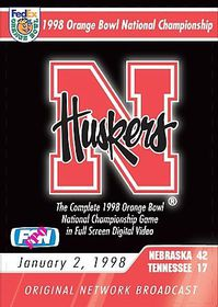 1998 Orange Bowl National Championship Game - (Region 1 Import DVD)