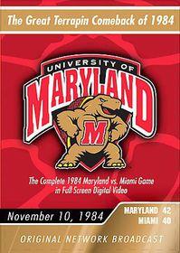 1984 Maryland Vs Miami - (Region 1 Import DVD)