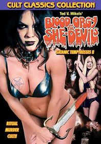 Blood Orgy of the She Devils - (Region 1 Import DVD)