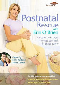 Postnatal Rescue with Erin O'brien - (Region 1 Import DVD)