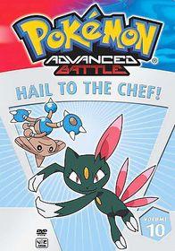 Pokemon Advanced Battle - Vol. 10: Hail to the Chef! - (Region 1 Import DVD)