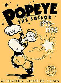 Popeye the Sailor:1933-1938 Vol One - (Region 1 Import DVD)