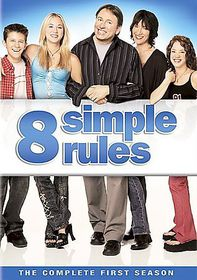 8 Simple Rules:Complete First Season - (Region 1 Import DVD)