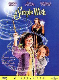Simple Wish - (Region 1 Import DVD)