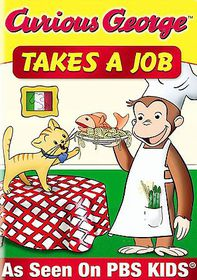 Curious George: Takes a Job and Other Monkey Business - (Region 1 Import DVD)