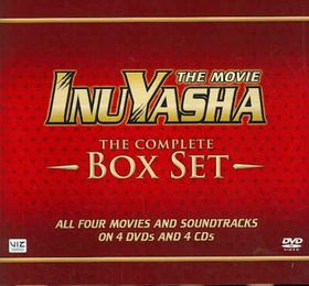 Inuyasha Complete Movies Box Set (1-4) - (Region 1 Import DVD)