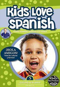 Kids Love Spanish Vol 5: Colors & Shapes - (Region 1 Import DVD)