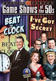 Classic 50's Quiz Shows: I've Got a Secret/Beat The Clock - (Region 1 Import DVD)