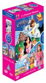 Favourite Princesses Box Set - (Import DVD)