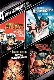 4 Film Favorites:John Wayne War - (Region 1 Import DVD)