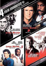 4 Film Favorites:Lethal Weapon - (Region 1 Import DVD)
