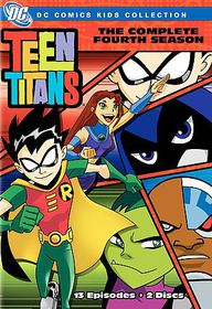 Teen Titans:Complete Fourth Season - (Region 1 Import DVD)