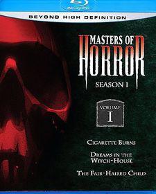 Masters of Horror:Season 1 Vol 1 - (Region A Import Blu-ray Disc)