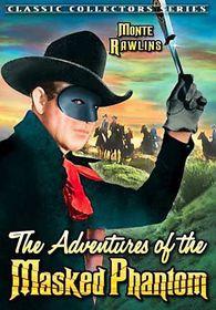 Adventures of the Masked Phantom - (Region 1 Import DVD)