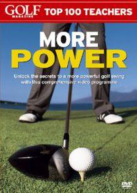 Golf-More Power - (Import DVD)