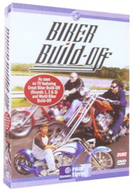 Great Biker Build Off 1-13 (4 Discs) - (Import DVD)