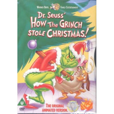 How The Grinch Stole Christmas 1966 Dvd.How The Grinch Stole Christmas 1966 Animated Import Dvd