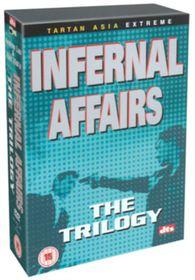 Infernal Affairs Trilogy (3 Discs) - (Import DVD)