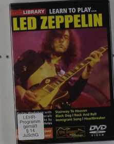 Learn To Play Led Zeppelin (2 Discs) - (Import DVD)