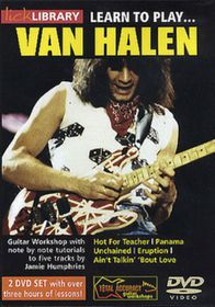 Learn To Play Van Halen (2 Discs) - (Import DVD)
