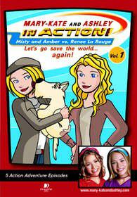 Mary-Kate and Ashley in Action: Volume 1 (DVD)