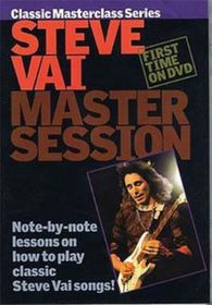 Master Session-Steve Vai - (Import DVD)