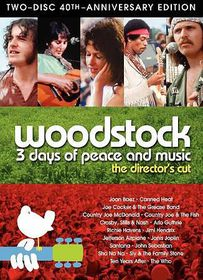 Woodstock 3 Days Of Peace & Music (Director's Cut 40th Anniversary) - (Region 1 Import DVD)