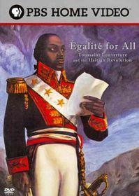 Egalite for All:Toussaint Louverture - (Region 1 Import DVD)