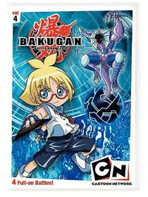 Bakugan Volume 4:Heroes Rise - (Region 1 Import DVD)