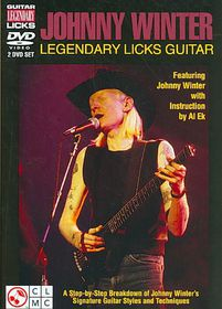 Johnny Winter:Legendary Licks Guitar - (Region 1 Import DVD)