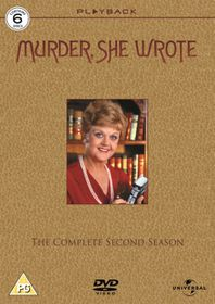 Murder She Wrote: Season 2 (DVD)(6 Discs) - (parallel import)