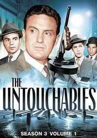 Untouchables:Season Three Vol 1 - (Region 1 Import DVD)