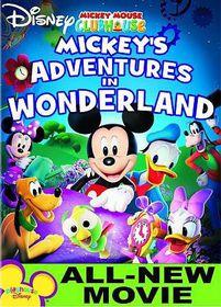 Mickey's Adventures in Wonderland - (Region 1 Import DVD)