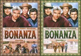 Bonanza:Official First Season V 1 & 2 - (Region 1 Import DVD)