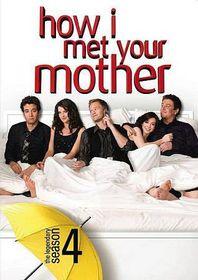 How I Met Your Mother Season 4 - (Region 1 Import DVD)