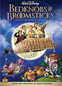 Bedknobs and Broomsticks:Enchanted Mu - (Region 1 Import DVD)