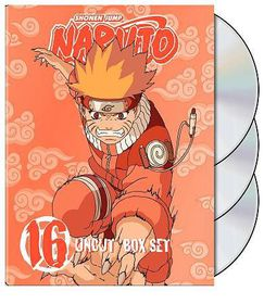 Naruto Uncut Box Set 16 - (Region 1 Import DVD)