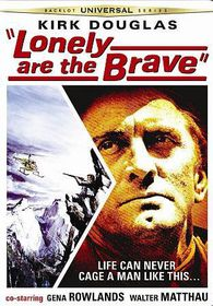 Lonely Are the Brave - (Region 1 Import DVD)